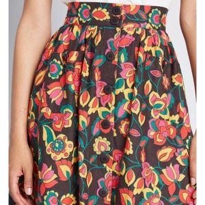 Modcloth Skirts - Modcloth Midi Skirt 3X-NWT